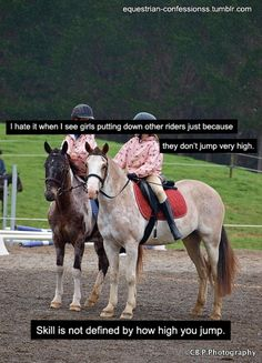 Truth. My trainer always says its not how high or how much you jump but the quality of each and every jump you take.