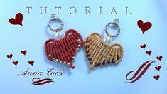 """Tutorial macrame pendent/earrings """" Heart 2 """"/  Diy tutorial"""