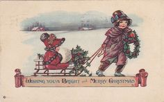 Pictures in Time: Vintage Christmas cards