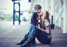 In the future i totally want a pic like this with my son :)