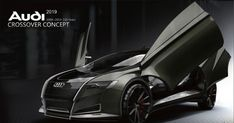 Audi Crossover Concept Car by Bolun Wang