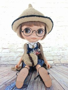 ◆Blythe Outfit◆ブライス♪麦わらとんがりこびと8点set NO.46 - ヤフオク!