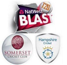 Natwest T20 Blast Hampshire v Somerset Match Live Score Streaming Prediction 2015