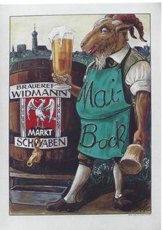 MAI-BOCK WIDMANN SCHWABEN BEER c.1935