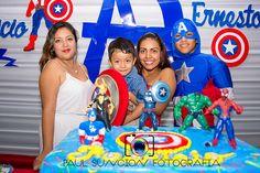 Cumple de nuestro amigo Fabricio, él es fanático de los Vengadores y en especial del Capitán América,, y ahí estuvimos para que tenga los mejores recuerdos fotográfcos de su fiesta,,,, junto al Show de Keila Paz Gómez que se hizo presente con los personajes de Avengers – Capitán América,,  saludos Y Dios bendiga a Fabricio y sus padres.,….aquí un avance,,, recuerde, si desea fotografía para su fiesta, contáctenos al inbox,,, https://www.facebook.com/paulsuncion