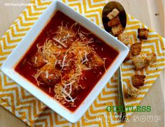 Pizza Soup (Guiltless) by 360FamilyNutrition