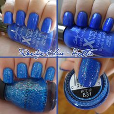 UK GAMEDAY Sally Hansen - Pacific Blue + Sinful Colors - Hottie by Abreu 1995, via Flickr