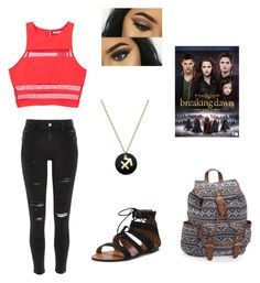 Movie night by emilyinparis2005 on Polyvore featuring polyvore, T By Alexander Wang, River Island, Aéropostale, Giani Bernini, fashion, style and clothing