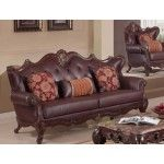 McFerran Home Furnishing - Upholstery Leather Sofa - RSF820-S  SPECIAL PRICE: $1,797.50