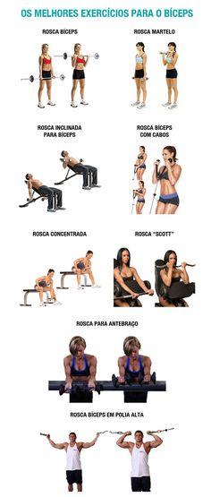 melhores-exercicios-biceps  Visite www.saudeprospera.com.br e saiba dicas para cuidar do seu corpo.