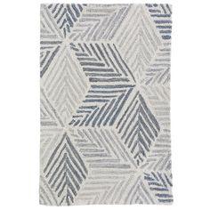 Dash and Albert Karari Hooked Wool Rug Dash And Albert, Textiles, Rug Sale, Grey Rugs, Rug Hooking, Blue Area Rugs, Blue Rugs, Abstract Pattern, Geometric Patterns