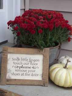 A personal favorite from my Etsy shop https://www.etsy.com/listing/250807575/little-fingers-touch-our-floor-please