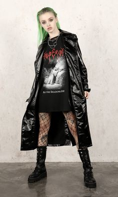 Emperor - As The Shadows Rise Long Sleeve T-Shirt - Disturbia Clothing Hipster Grunge, Grunge Style, Soft Grunge, Grunge Outfits, Punk Outfits, Curvy Outfits, Fashion Outfits, Tokyo Street Fashion, Alternative Outfits