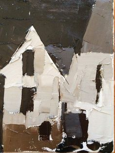 Houses Put Together by Sandra Pratt, Selby Fleetwood Gallery