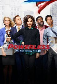 Powerless: Season 1 - WatchHax - Watch TV Shows Online, Watch Movies Online for Free Full Comedy Tv Series, Tv Series 2017, Series Movies, Movies And Tv Shows, Watch Free Tv Shows, Tv Series To Watch, Series Online Free, Tv Shows Online, Movies