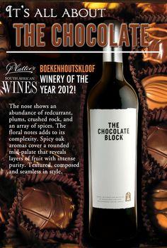 #TheChocolateBlock #wine