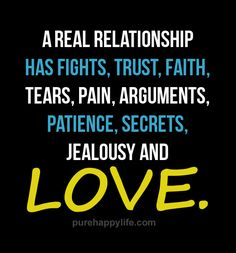 However I don't believe in jealousy but the message is no relationship is perfect, there will always be something bad and then there will always be LOVE to overcome it