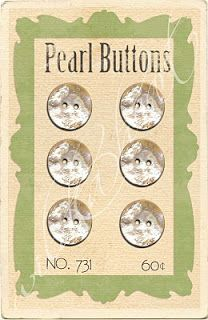 Wild@heart: Friday freebie - Pearl button