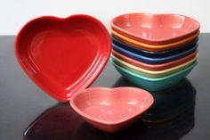 Fiesta® Heart Shaped Bowls   HLCCA
