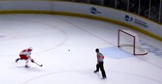 louie belpedio makes an insane stick save to prevent an empty net goal