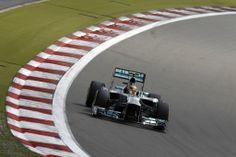 """Formula One - MERCEDES AMG PETRONAS, German GP, Nürburgring. 05-07 July 2013. Lewis Hamilton"""
