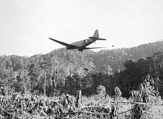 AUG 29 1942 Victoria Cross won on the Kokoda TrackOne of the biggest problems during the Kokoda campaign was supply. Douglas DC-3 transport aircraft became known as 'biscuit bombers' as they dropped supplies along the Kokoda Track.