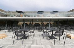 Terrace Restaurant at London Zoo,© Alastair Lever