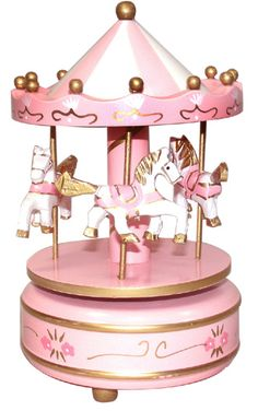 musical wind-up carousel