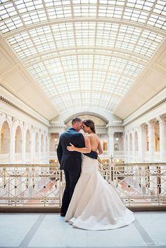 The Society Room of Hartford Wedding Photos and Wedding Portraits in City Hall Hartford CT