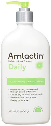 Amlactin 12 Moisturizing Lotion 567 G 20 Oz Amlactin In 2020 Moisturizing Body Lotion Dry Skin Care Organic Skin Care