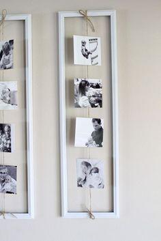 Suspendre les photos pour décorer votre intérieur! 20 idées inspirantes…