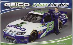 RARE Casey Mears 2016 GEICO  Chevy SS 1//64 NASCAR