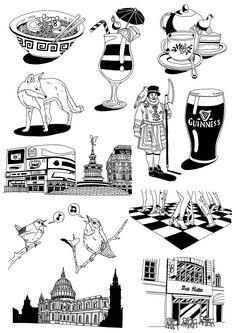 LONDON NIGHT & DAY on Behance