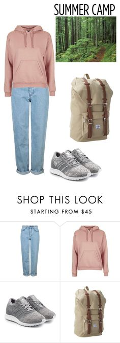 """""""Summer camp #2016"""" by neflaluna on Polyvore featuring Topshop, adidas Originals, Herschel Supply Co., summercamp and 60secondstyle"""