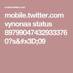 mobile.twitter.com vynonaa status 897990474329333760?s=09