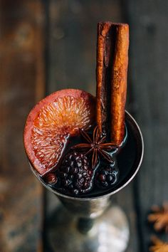 This mulled wine is perfect for the holidays. It just smells like Christmas. Even if one doesn't enjoy wine, just having this simmering on your stove top as guests arrive will put everyone in the Christmas spirit. Colorful Cocktails, Fun Drinks, Beverages, Cold Drinks, National Drink Wine Day, Fall Inspiration, Wine Jokes, Blackberry Wine, Sweet Wine