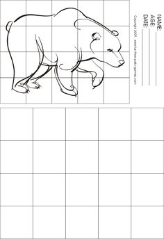 Printables Grid Art Worksheets art worksheets search and elephants on pinterest grid bing kuvat
