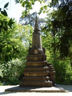 #Monument aux #Cambodgiens et #Laotiens morts pour la France, #Jardin d'Agronomie Tropicale, #Paris #12ème arr.
