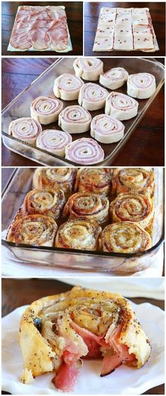 hot-ham-cheese-party-rolls