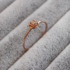 Julia - Rose Gold Plated Sterling Silver Ring