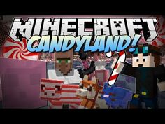 Minecraft | CANDYLAND! (Candy Cane Pigs, Chocolate Dogs, Candy Dimension & More!) | Mod Showcase - YouTube