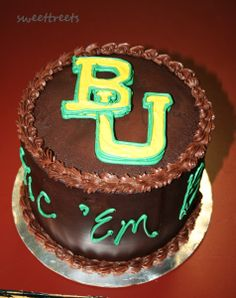 Baylor cake by SweetTreets, via Flickr
