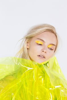 "thebeautymodel: ""Enly Tammela by Kristiina Wilson for Models.com Makeup by Katie Mellinger using Makeup Forever Aqua Cream in 24 Yellow """
