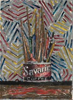 'Savarin' (1982) Photo: Savarin, 1982 © Jasper Johns and ULAE/Licensed by VAGA, New York, NY, Published by Ulae