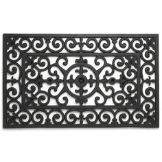 """Abbott Rubber Fleurdelys Doormat by Abbott. $46.54. Dimensions 18-inch W by 30-inch L. Durable 100-percent natural rubber. Rubber """"fleur-de-lys"""" motif outdoor mat. These durable mats are made of 100-percent natural rubber, which is known for it ability to withstand a variety of outdoor elements. They are ideal for any climate and will not fade in the sunlight."""