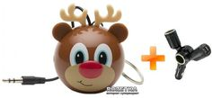 KitSound Mini Buddy Speaker Reindeer (QUADGPCNK)