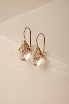 BHLDN Laurelie Earrings  Gold  in  Shoes & Accessories   BHLDN