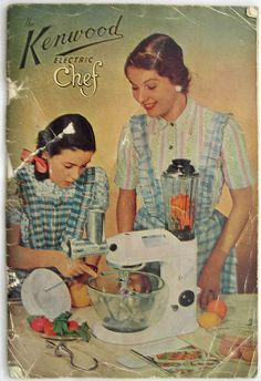 Manual for Kenwood Chef by eyeseenicee, via Flickr