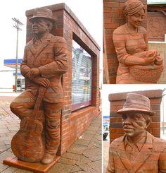 Three-Dimensional Brick Sculptures by Brad Spencer - Inspiration Grid Brick Art, Brick Construction, Zebra Art, Brick Architecture, Brick Design, Shadow Art, Brick And Stone, Three Dimensional, Sculpture Art