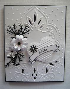 card matrimonio elegante